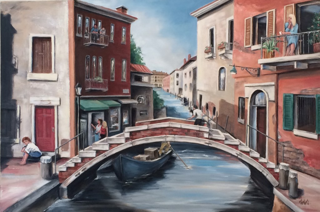 "Lee Chabot, ""Rio San Felice, Venice"""
