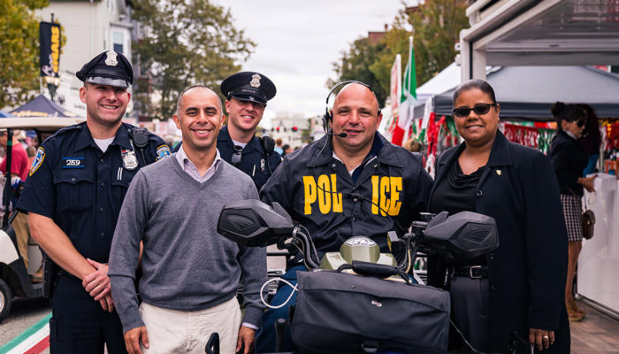 Photo 25th Anniversary Columbus Day Festival Federal Hill Providence RI FHCA