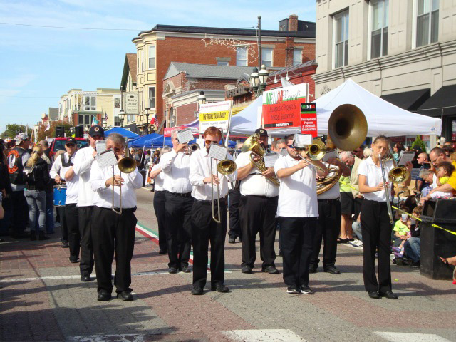 Columbus Day Parade Marching Band