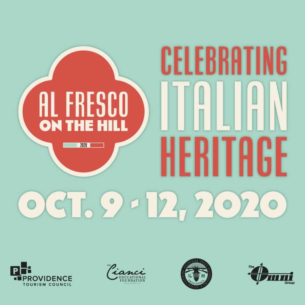 Al Fresco On The Hill Oct. 9-12, 2020